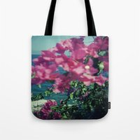 greece Tote Bags featuring Greece by Kristoffer Gold