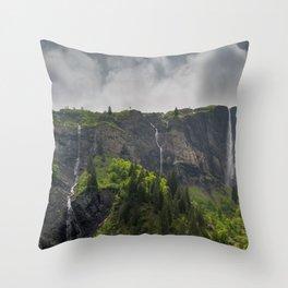 White Pine Valley Throw Pillow
