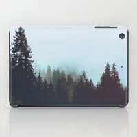 washington iPad Cases featuring Washington Woodlands  by Leah Flores