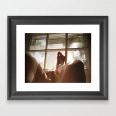 Morning Skin Framed Art Print