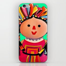 Mexican Maria Doll 3 iPhone Skin