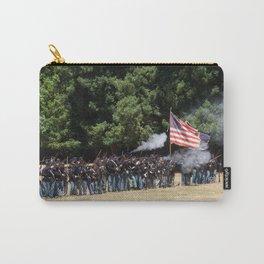 Civil War Battle Re-Enactment Carry-All Pouch