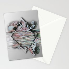 A Broken Definition Of Love Stationery Cards