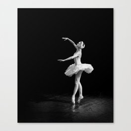 Russian Ballet Dancer 1 Canvas Print