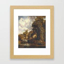 John Constable 1776–1837   The Valley Farm Framed Art Print