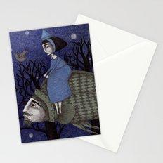 Kingfisher's Invitation to Tea (2) Stationery Cards