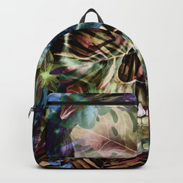 leaves skull i Backpack