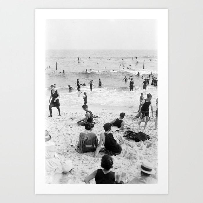 Long Beach California Vintage Photo, 1920s Kunstdrucke