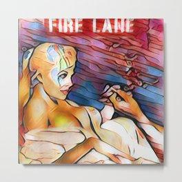 Fire Lane Metal Print