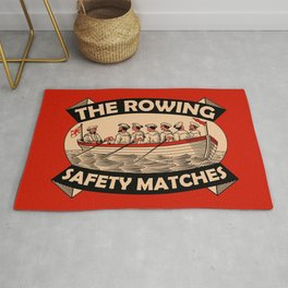 The Rowing Safety Match Rug