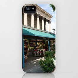 Paris Flower Vendor iPhone Case