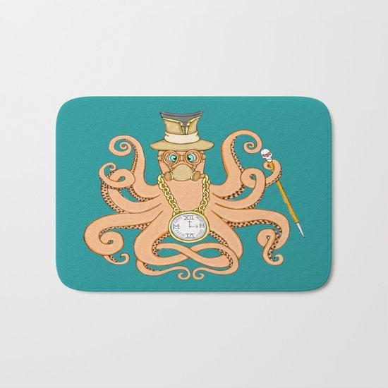 Steampunk Octopus Bath Mat