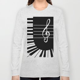 Piano Keys I Long Sleeve T-shirt