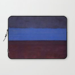 No.61 Rust and Blue 1953 by Mark Rothko Laptop Sleeve