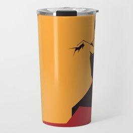 faceted flamenco Travel Mug