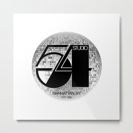 Studio 54 - Discoteque Metal Print
