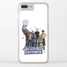 Community Clear iPhone Case