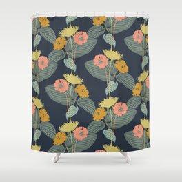 Mod Floral Shower Curtain