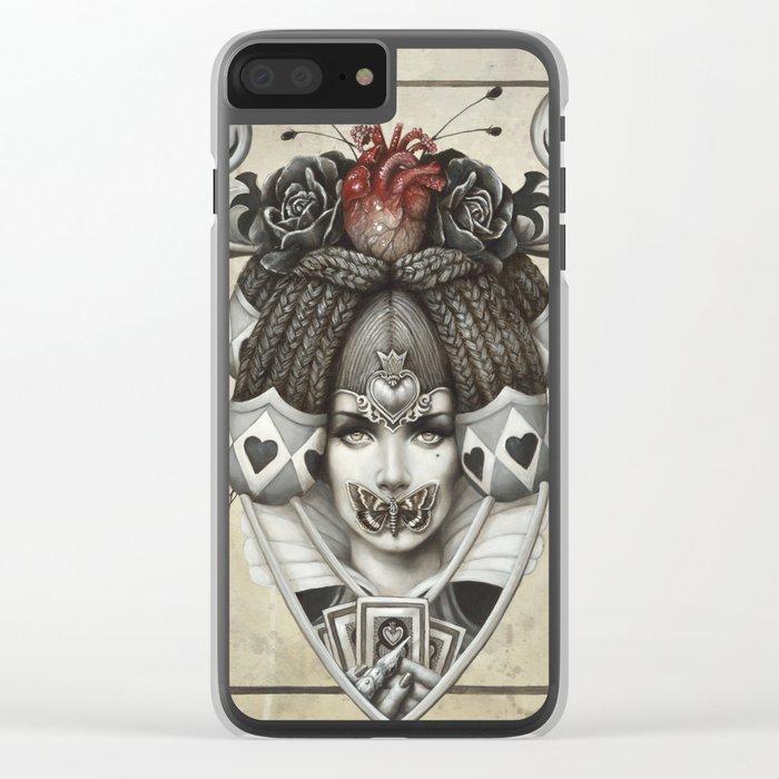 La reine rouge Clear iPhone Case