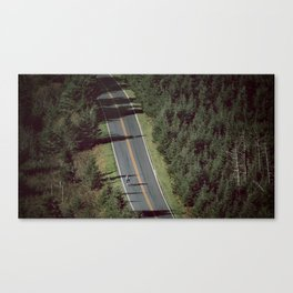 Mt. Mitchell Bike Ride Canvas Print