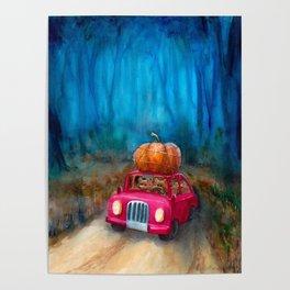 Halloween is coming! Poster