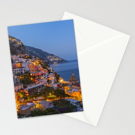 A Serene View of Amalfi Coast in Italy Stationery Cards