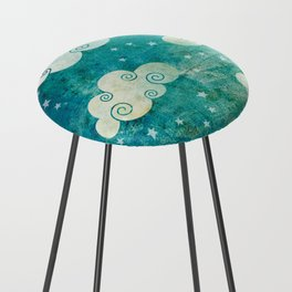 Clouds Counter Stool