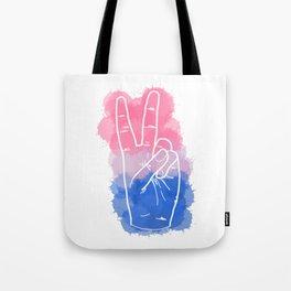 Bisexual Pride Tote Bag