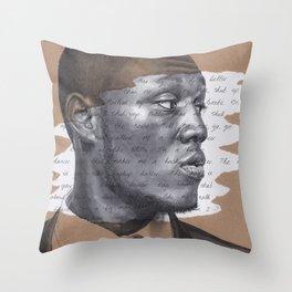 Shut Up Throw Pillow