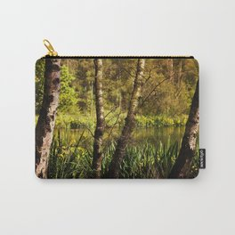 Hot summer day at the forest lake Carry-All Pouch