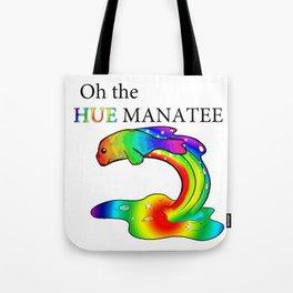 Oh the Hue Manatee Tote Bag