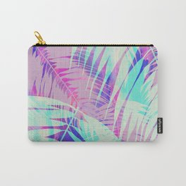 Maui Palm {Pink A} Carry-All Pouch