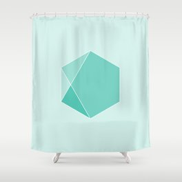 Emerald Shower Curtain