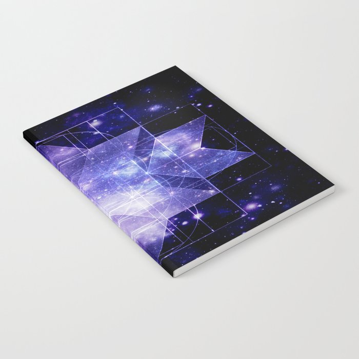 galaxy sacred Geometry Notebook