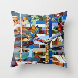 Michael (stripes 9) Throw Pillow