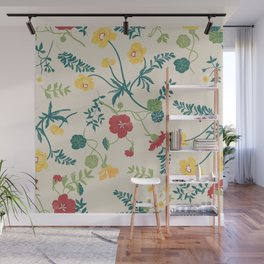 Nasturtiums are my fave Wall Mural
