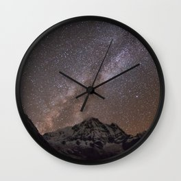 Annapurna Landscape Wall Clock
