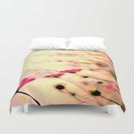 Looking up at the sky Duvet Cover