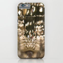 Wine Glass Abstract iPhone Case