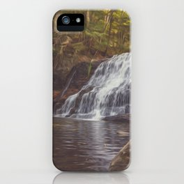 Wadsworth Falls iPhone Case