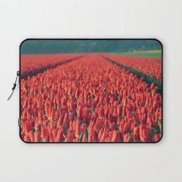 Tulips field #8 Laptop Sleeve