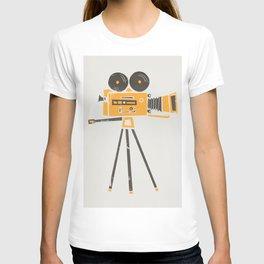 Cine Camera T-shirt