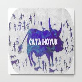 Ancient Catalhoyuk Metal Print