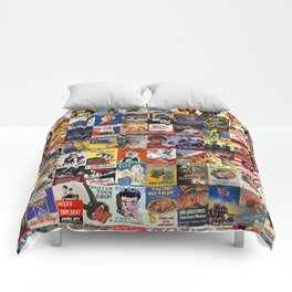 WWII Posters Comforters