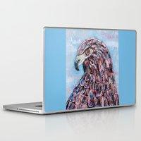 hawk Laptop & iPad Skins featuring hawk by Brittany Rae