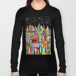 Flagscapes: World Cityscape Long Sleeve T-shirt
