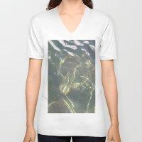 copenhagen V-neck T-shirts featuring Submerged bike Copenhagen by RMK Creative