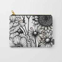 Country Bouquet Carry-All Pouch