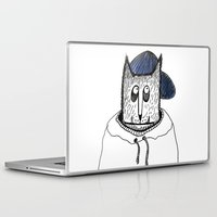 russian Laptop & iPad Skins featuring Russian cat by KRADA ZHAN ART