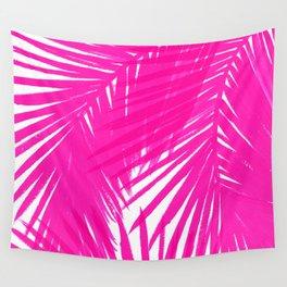 Palms Fuchsia Wall Tapestry